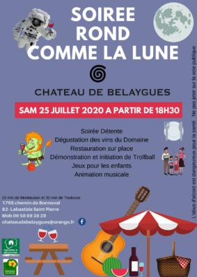 FÊTE ROND COMME LE LUNE #Labastide-Saint-Pierre @ Château de Belaygues