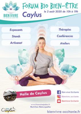FORUM BIO BIEN-ÊTRE #Caylus @ Halle de la mairie