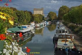 DES BERGES DU TARN AU CANAL #Moissac @ Entrée du Cloître