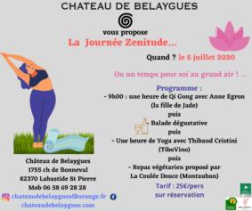 JOURNÉE ZÉNITUDE #Labastide-Saint-Pierre @ Château de Belaygues