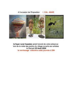 LES ARTS DANS LES JARDINS I CAL ANAR #Cazals @ les Jardins du village