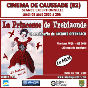 "PROJECTION: « LA PRINCESSE DE TRÉBIZONDE"" #Caussade @ Cinéma"