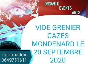 VIDE GRENIER #Cazes-Mondenard @ Salle des fêtes Francois Cauby