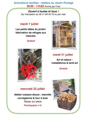 ART ET NATURE : INSTALLATION & LAND ART #Septfonds @ Jardin Partagé