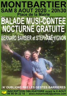 BALADE MUSI-CONTÉE #Montbartier @ Parvis de l'Eglise