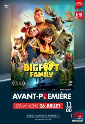 BIGFOOT FAMILY EN AVANT-PREMIÈRE #Montauban @ CGR MONTAUBAN