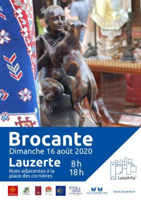 BROCANTE DE LAUZERTE #Lauzerte