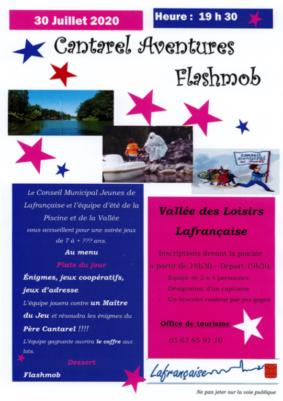 CANTAREL AVENTURES FLASHMOB #Lafrançaise @ Vallée des loisirs