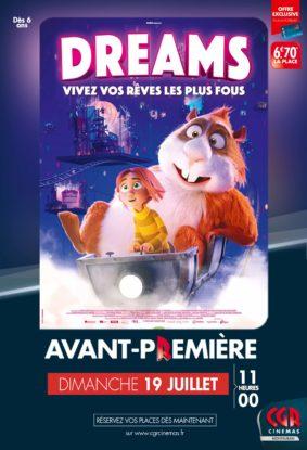 DREAMS EN AVANT-PREMIÈRE #Montauban @ CGR MONTAUBAN