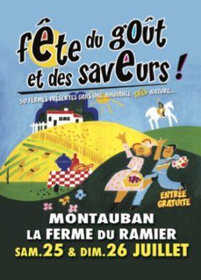 LA FÊTE DU GOÛT ET DES SAVEURS #Montauban @ La Ferme du Ramier