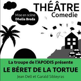 LE BÉRET DE LA TORTUE #Montauban @ Théâtre de l'Embellie