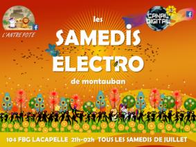 LES SAMEDIS ELECTRO #Montauban @ L'Antre Pote