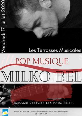 LES TERRASSES MUSICALES #Caussade @ Kiosque
