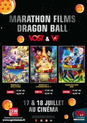 MARATHON DRAGON BALL en VF #Montauban @ CGR MONTAUBAN