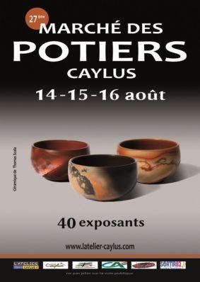 MARCHÉ DES POTIERS #Caylus @ Au coeur du village