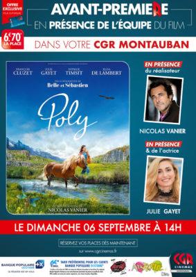 POLY - EN PRÉSENCE DE L'ÉQUIPE DU FILM #Montauban @ CGR MONTAUBAN