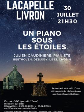 UN PIANO SOUS LES ÉTOILES #Lacapelle-Livron @ Notre Dame des Grâces