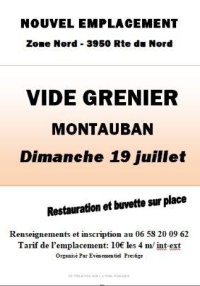 VIDE GRENIER #Montauban