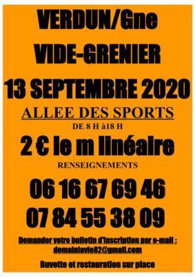 VIDE-GRENIER #Verdun-sur-Garonne