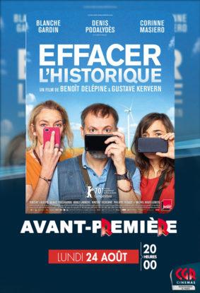 AVANT-PREMIÈRE EFFACER L'HISTORIQUE #Montauban @ Cinéma CGR Le Paris