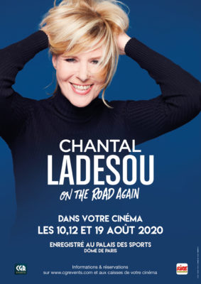 CHANTAL LADESOU - ON THE ROAD AGAIN #Montauban @ CGR MONTAUBAN
