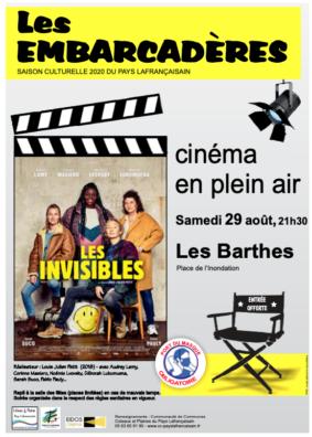"""CINÉMA PLEIN AIR """"LES INVISIBLES"""" #Les Barthes"""