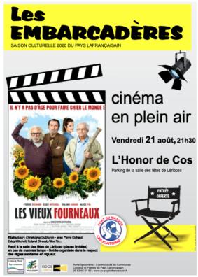 """CINÉMA PLEIN AIR """"LES VIEUX FOURNEAUX"""" #L'Honor-de-Cos @ Léribosc"""