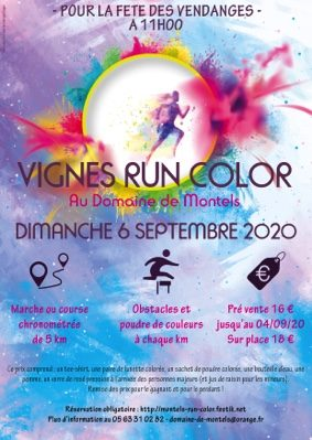 VIGNES RUN COLOR #Albias @ Domaine de Montels