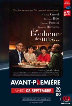LE BONHEUR DES UNS... - EN AVANT-PREMIÈRE #Montauban @ CGR MONTAUBAN