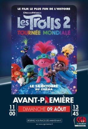LES TROLLS 2 - EN AVANT-PREMIÈRE #Montauban @ CGR MONTAUBAN
