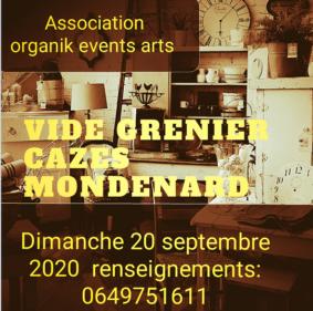 VIDE GRENIER #Cazes-Mondenard