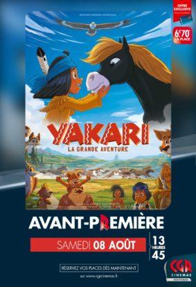 YAKARI - EN AVANT-PREMIÈRE #Montauban @ CGR MONTAUBAN