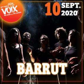 BARRUT - FESTIVAL DES VOIX, DES LIEUX...DES MONDES #Moissac @ Cloître de Moissac