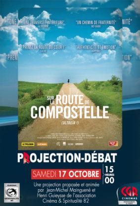 CINÉ-DÉBAT SUR LA ROUTE DE COMPOSTELLE #Montauban @ Cinéma CGR Le Paris