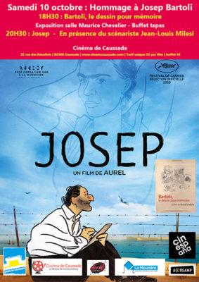 CINESPANA - HOMMAGE À JOSEP BARTOLI EN PRÉSENCE DU SCÉNARISTE JEAN-LOUIS MILESI #Caussade @ Cinéma de Caussade