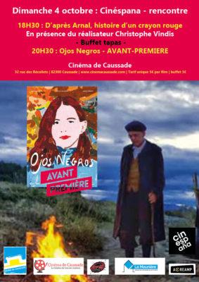CINESPANA - RENCONTRE ET JEUNE CINÉMA ESPAGNOL #Caussade @ Cinéma de Caussade
