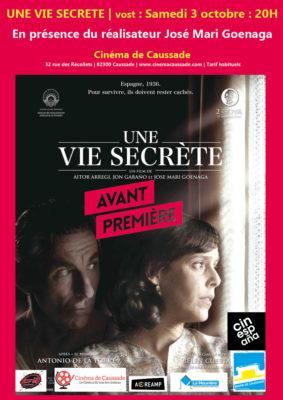 CINESPANA | UNE VIE SECRÈTE - AVANT-PREMIÈRE AVEC RÉALISATEUR #Caussade @ Cinema de Caussade