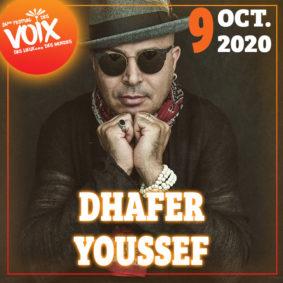 DHAFER YOUSSEF - FESTIVAL DES VOIX, DES LIEUX...DES MONDES #Moissac @ Hall de Paris