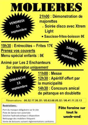 FÊTE VOTIVE #Molières