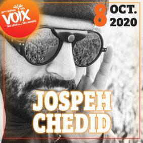 JOSEPH CHEDID SOLO - FESTIVAL DES VOIX, DES LIEUX...DES MONDES #Lafrançaise @ Mediathèque