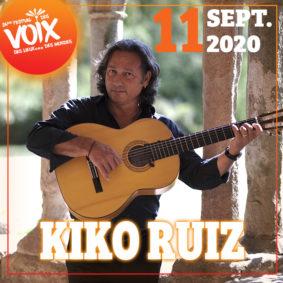 KIKO RUIZ QUARTET - FESTIVAL DES VOIX, DES LIEUX... DES MONDES #Moissac @ Cloitre
