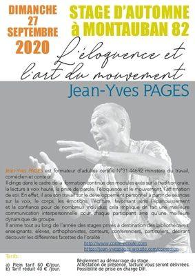 L'ÉLOQUENCE ET L'ART DU MOUVEMENT #Montauban