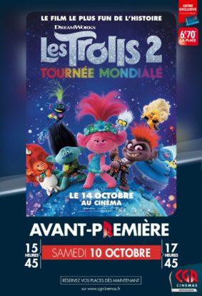 LES TROLLS 2 - EN AVANT PREMIÈRE #Montauban @ CGR MONTAUBAN
