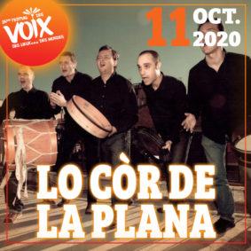 LO CÒR DE LA PLANA - FESTIVAL DES VOIX, DES LIEUX...DES MONDES #Lafrançaise @ Mediatheque