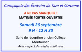 MATINEE PORTES OUVERTES #Montauban @ Maison de la Culture
