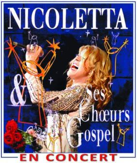 NICOLETTA - LES ACOUSTIQUES GOSPEL #Montauban @ Cathédrale de Montauban