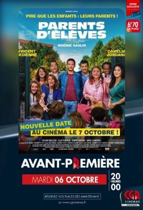 PARENTS D'ÉLÈVES - EN AVANT-PREMIÈRE #Montauban @ CGR MONTAUBAN