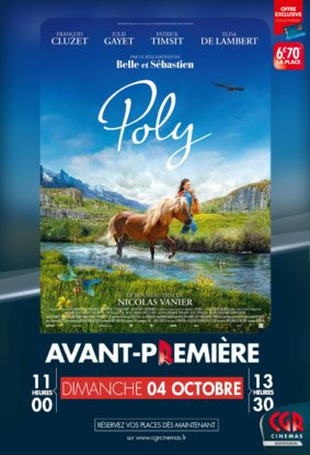 POLY - EN AVANT-PREMIÈRE #Montauban @ CGR MONTAUBAN
