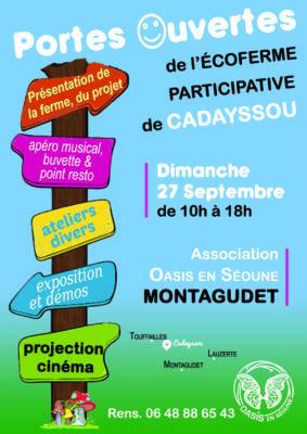 PORTES-OUVERTES DE L'OASIS #Montagudet @ Eco-ferme participative