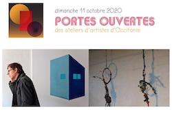 """PORTES OUVERTES DES ATELIERS D'ARTISTES """"CHRISTOPHE VIXOUZE"""" #Montastruc @ L'atelier"""